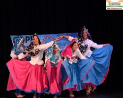 The Elegant Creations Students performing GOPIO Heritage India 2014