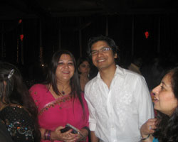 Dr Madhvi Mohindra with Shaan