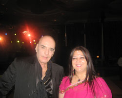 Dr. Madhvi Mohindra with the legend Actor Firoz Khan