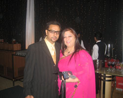 Dr. Madhvi Mohindra with Bollywood's BAD MAN ,Gulshan Grover